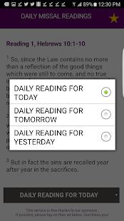 Catholic Daily Missal Readings - náhled