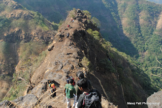 """Photo: Chandragad... 10:00 am ....Started towards our next target """"Ghumati""""..."""