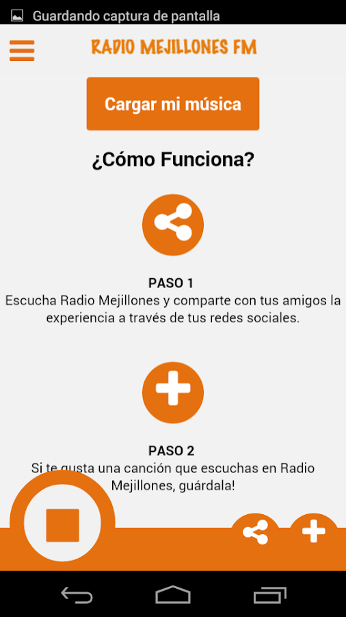 Radio Mejillones- screenshot