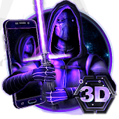 3D Galaxy Wars Star Theme