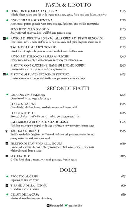 K3 - JW Marriott menu 14
