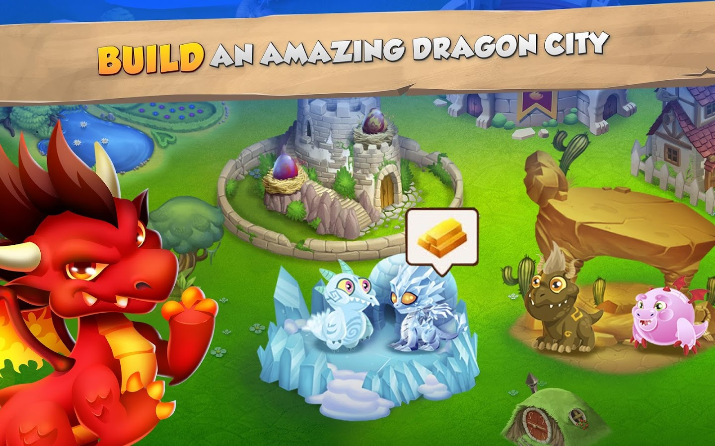 Dragon City- screenshot