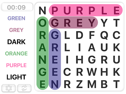 Word Search Games in english- screenshot thumbnail