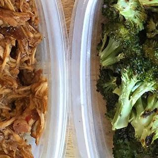 Crock Pot Honey Garlic Chicken with Broccoli