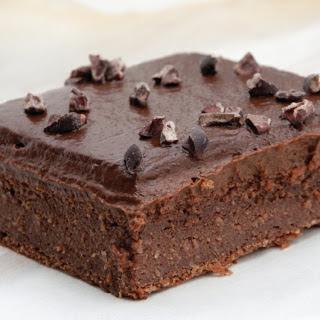 Blender Brownies with Chocolate Avocado Frosting [Vegan, Gluten-Free] Recipe