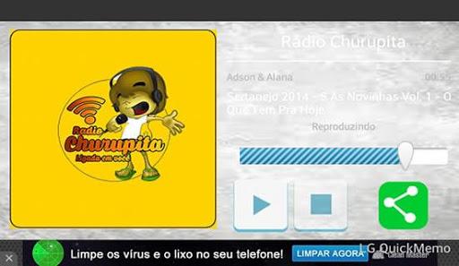 Rádio Churupita screenshot 2