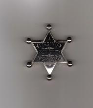Photo: Virginia Prohibition Inspector, Badge (Reproduction)