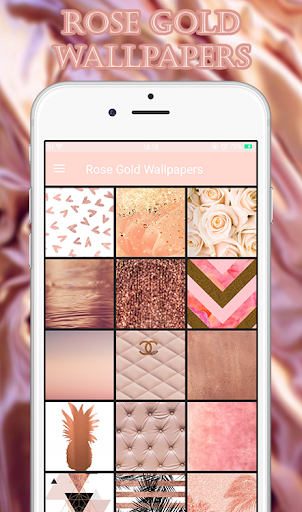 Screenshot for Rose Gold Wallpapers in United States Play Store