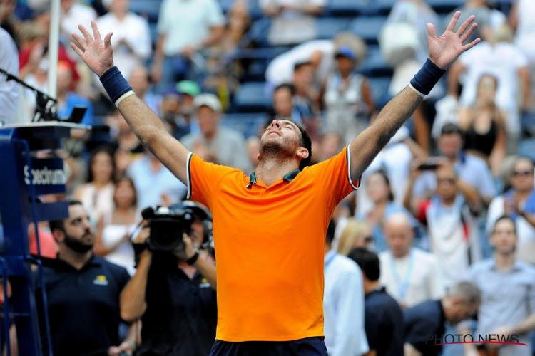 """9 jaar na grote doorbraak en winst op US Open staat boomlange Argentijn er terug: """"Het gevoel dat ik opnieuw leef"""""""