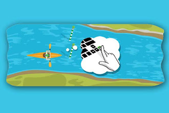 Photo: How to play the London 2012 slalom canoe Google doodle http://t.in.com/1qW1
