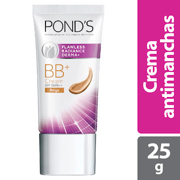 Crema PONDS Facial   Flawless Radiance BB+ FPS 30 PA+Beigex25g