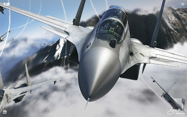 Fighter Jets HD Wallpapers New Tab