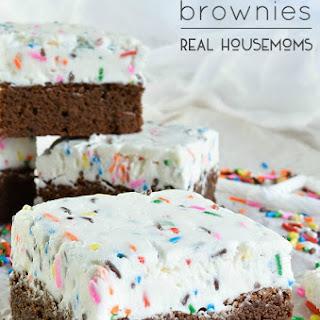 Birthday Brownies.