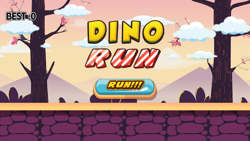 Dino Run!  captures d'écran 1