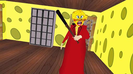 Télécharger gratuit Scary sponge granny - house escape APK MOD 1