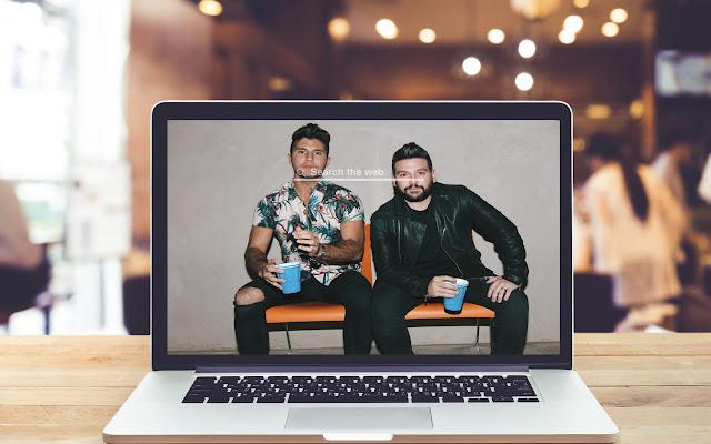Dan + Shay HD Wallpapers New Tab Theme