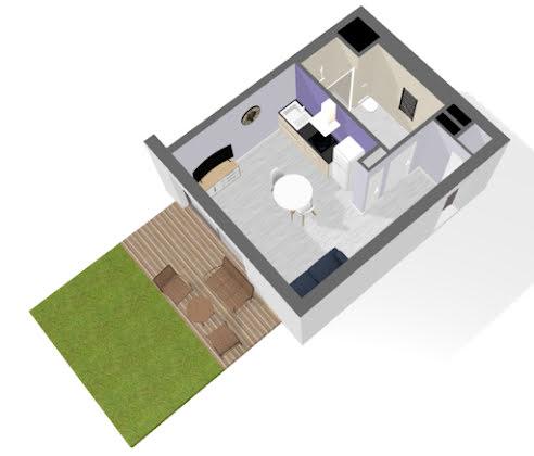 Vente studio 24,5 m2
