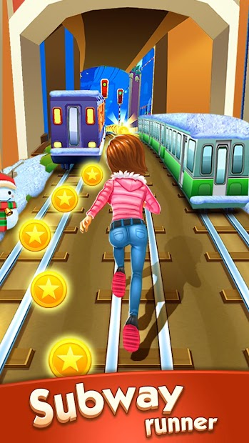 Subway Princess Runner Android App Screenshot
