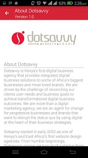 Dotsavvy Insights- screenshot thumbnail