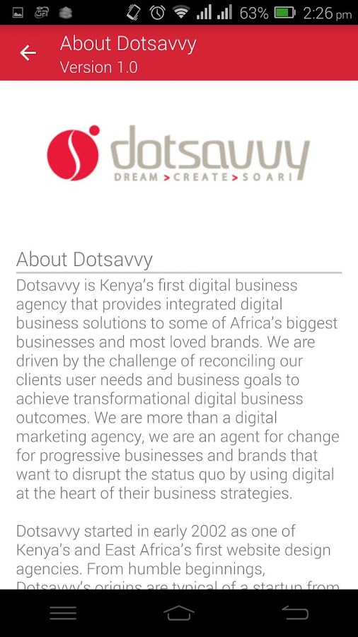 Dotsavvy Insights- screenshot