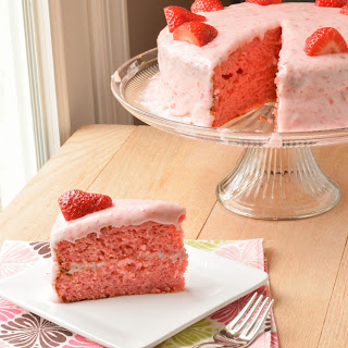 Best Ever Strawberry Cake.