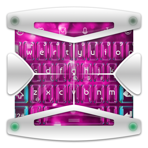 个人化のピンクスパークル TouchPal LOGO-記事Game