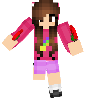 Mabel skin and what she's holding describes her personality