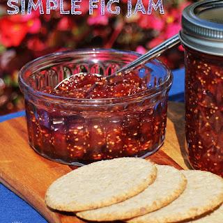 Simple Fig Jam.
