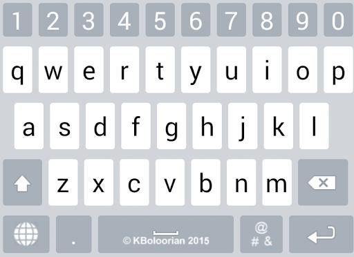 Advanced Kurdish Keyboard 5.5 screenshots 11