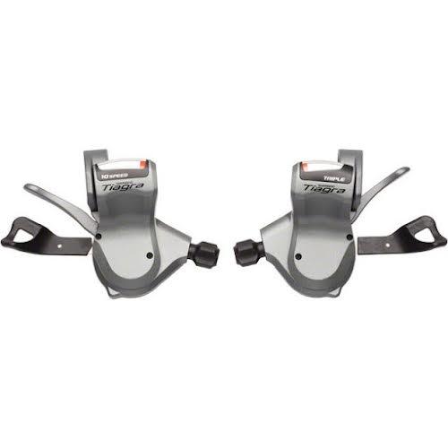 Shimano Tiagra 4603 10-Speed Triple Flat Bar Road Shifter Set
