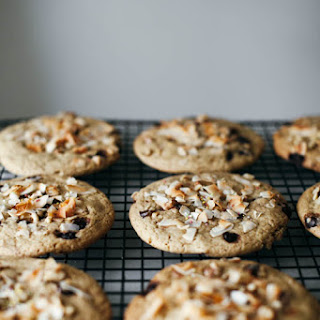 Coconut Tahini Monster Cookies