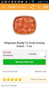 Wegmans- screenshot thumbnail