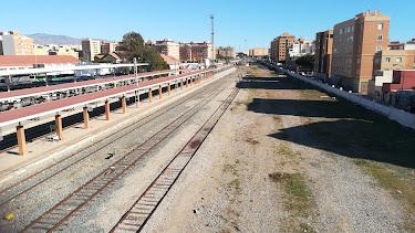 Zona por la que transcurrirá la nueva zona ampliada de Sierra Alhamilla