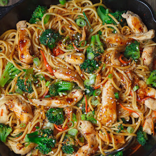 Fried Spaghetti Noodles Recipes.