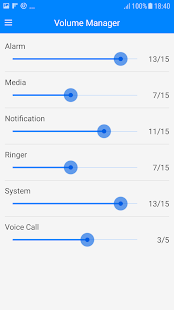 Simple Volume Manager - Volume Control - náhled