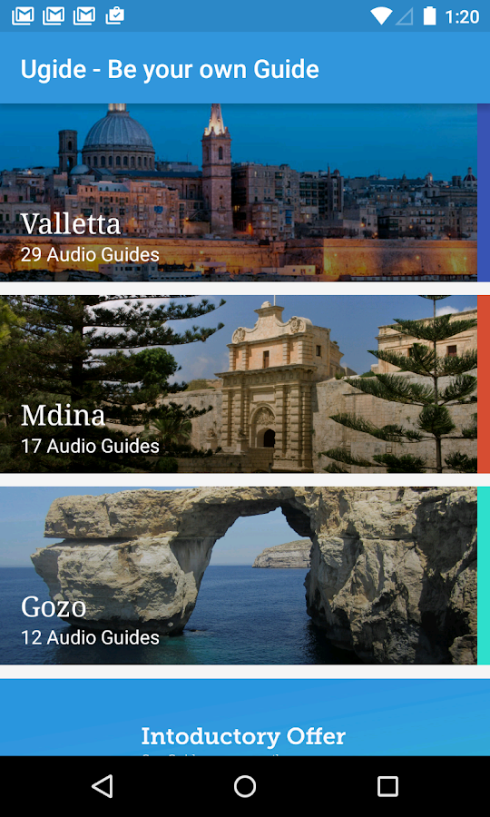 Ugide Malta - Audio Tours- screenshot