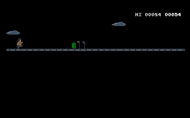 T-Rex Batman runner
