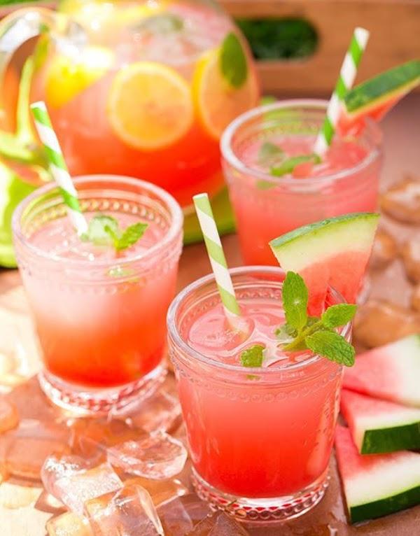 Sittin' In The Shade - Watermelon Lemonade Recipe