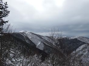 蓬莱山(スキー場が見える)