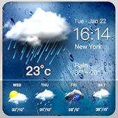 Rainy Weather Widget