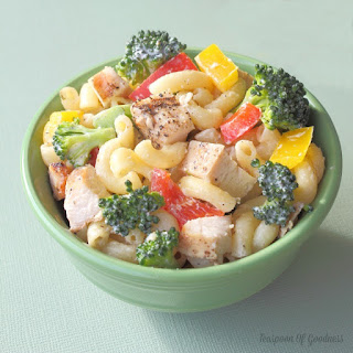 Grilled Chicken & Broccoli Pasta Salad.