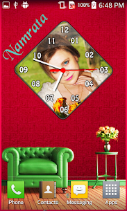 Photo Clock Live Wallpaper 8