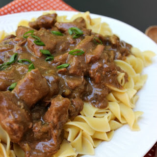 Slow Cooker Beef Noodles Recipes.