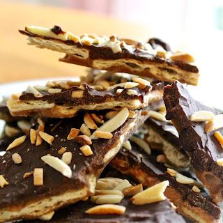 Crispy Chocolate Toffee Bark