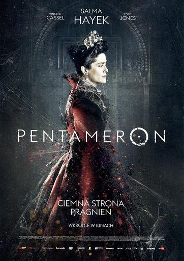 Przód ulotki filmu 'Pentameron'