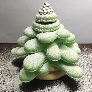 Macaron 聖誕樹
