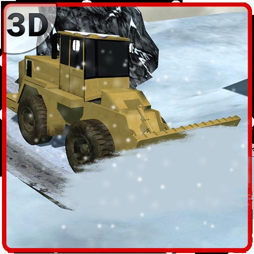 雪犁车模拟器 模擬 LOGO-玩APPs