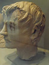 Photo: Head of man from Temple of Manganello, 3rd century BC, Vatican Gregorian-Etruscan Museum