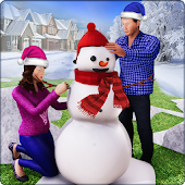 Family Dad Virtual Family Winter Adventure