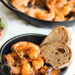 Shrimp in Pil-Pil Sauce